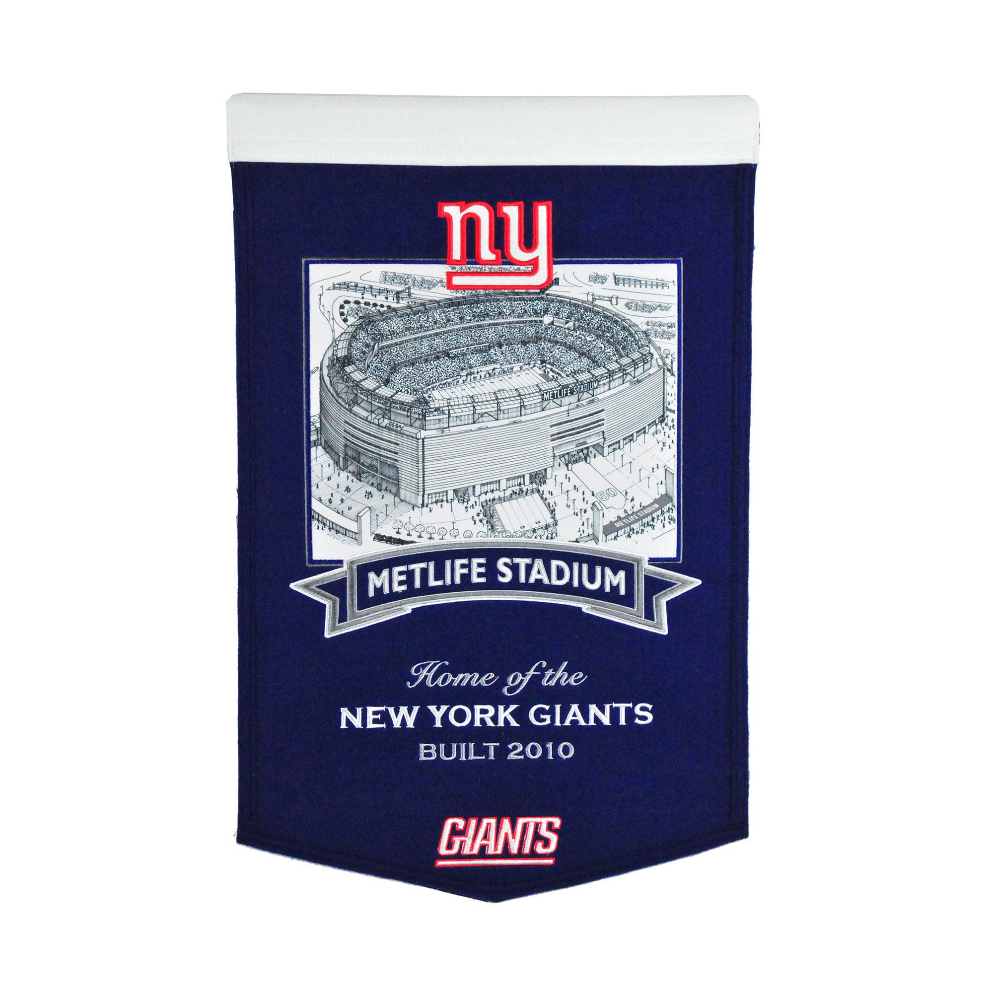 "New York Giants 15"" x 24"" Stadium Banner - No Size"