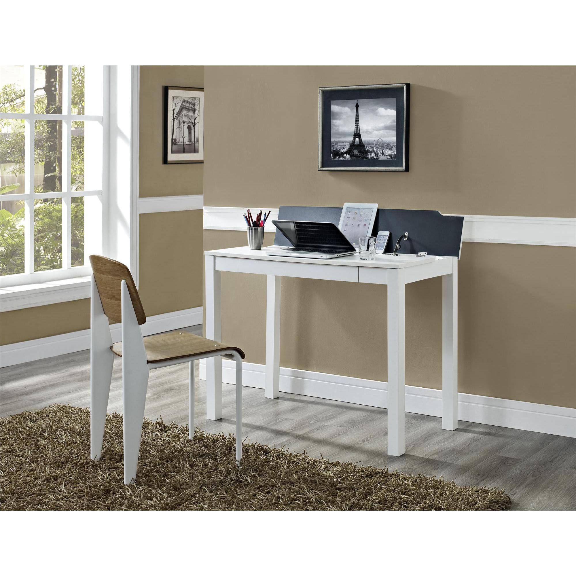 Altra Wayne Parsons Flip-Up Desk, White