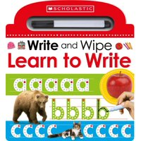 Learn to Write (Scholastic Early Learners: Write and Wipe) (Board Book)
