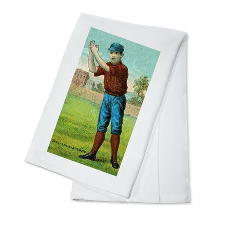 St. Louis Browns - Tip O'Neil - Baseball Card (100% Cotton Kitchen Towel)