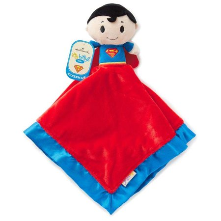Hallmark Itty Bittys Superman Baby Lovey Plush New with Tags ()