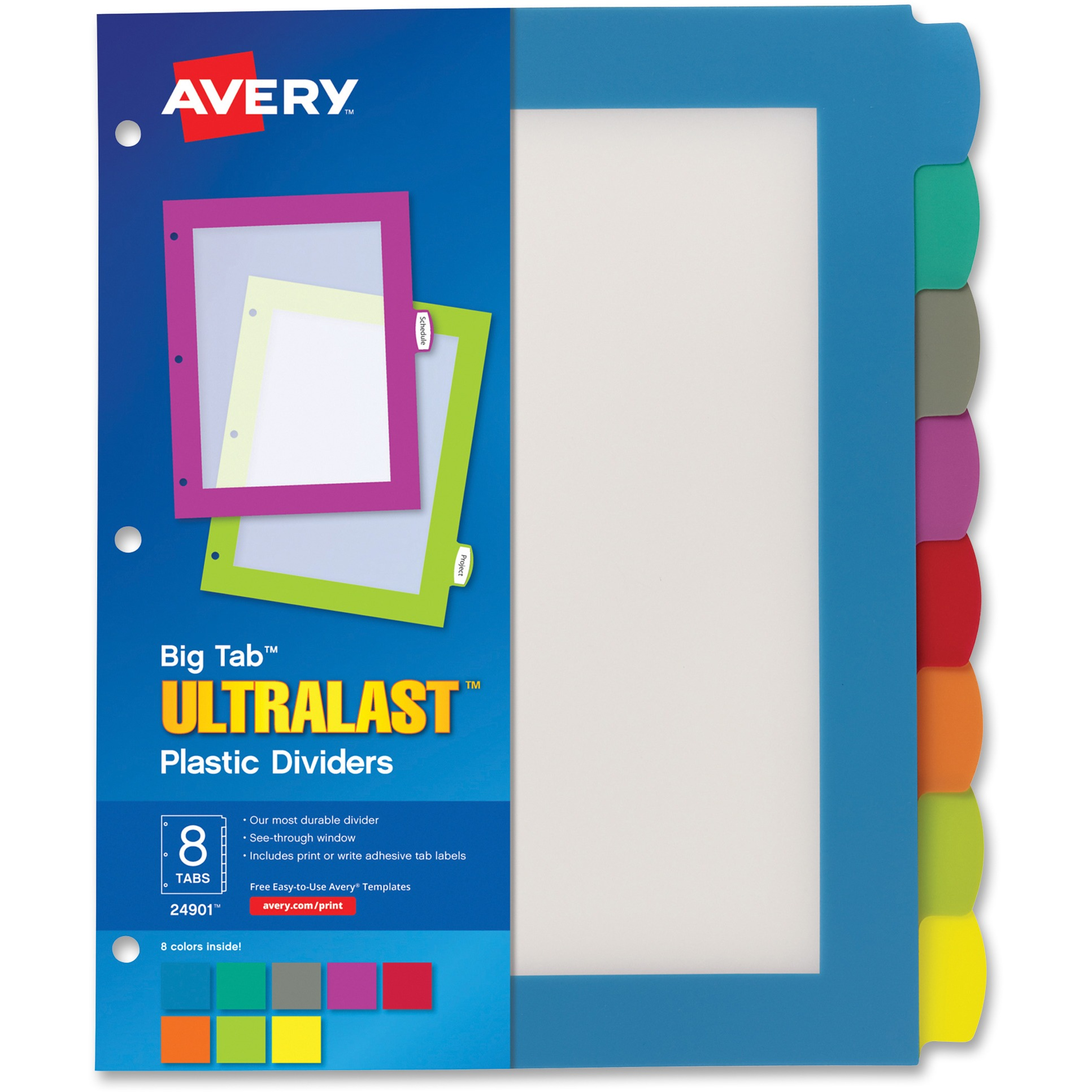Avery Write & Wipe A6 Sheets, 102 x 152 mm