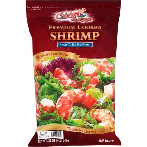 Chicken Of The Sea Premium Cooked Shrimp 32 Oz Walmart