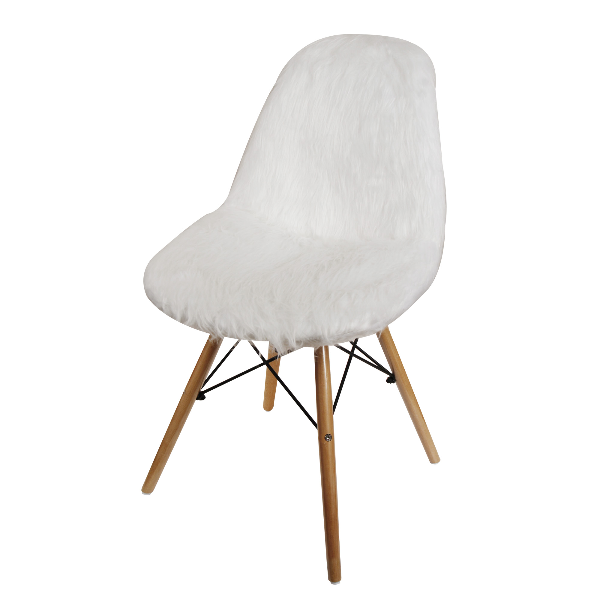 GIA Design Group Mid Century Armless Dining Chair with ...