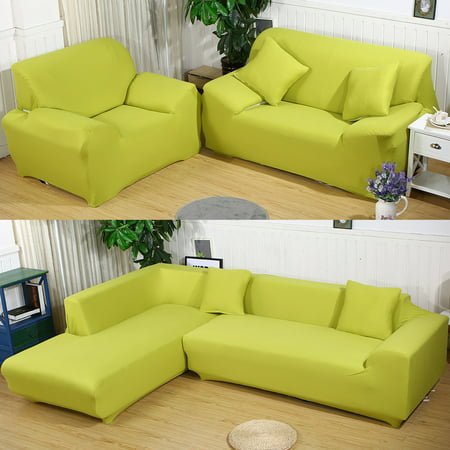 TOPCHANCES Couch Sofa Covers,1-4 Seater Sofa Furniture Protector Home Full  Stretch Lightweight Elastic Fabric Soft Sectional Sofa L-Shape Couch ...