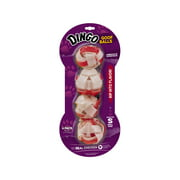 Dingo Goof Balls Chicken and Rawhide Chew for Dogs, 4-Count