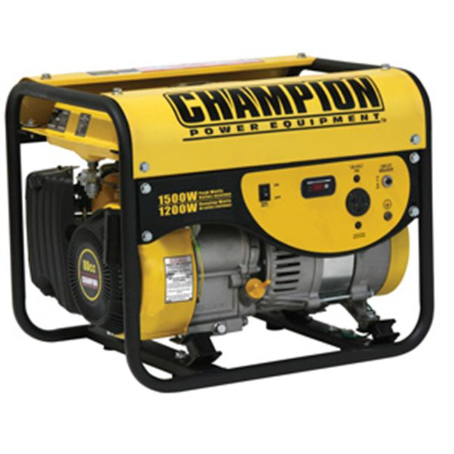Champion 42436 1200 - 1500 Watt Portable Gas Generator