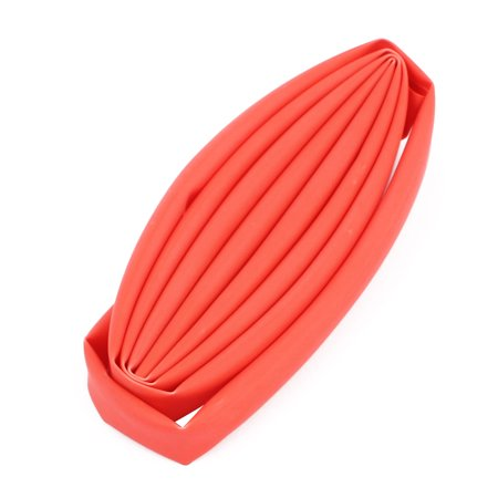 6mm Dia 1M Length Insulated Heat Shrink Tube Sleeving Wrap Wire Kits Red Insulated Wrapping Wire