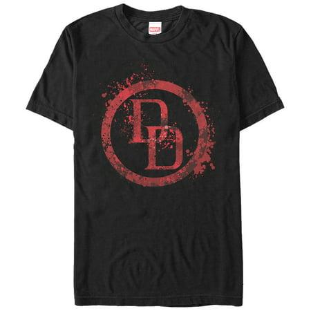 Marvel Men's Daredevil Logo Splatter T-Shirt](Daredevil T Shirt)