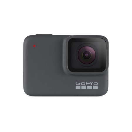 GoPro HERO7 Silver — Waterproof Digital Action Camera with Touch Screen 4K HD Video 10MP Photos (Newest Model)