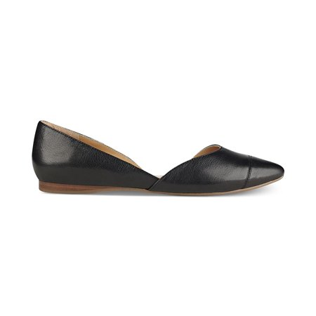 9066f4810 Tommy Hilfiger Womens Naria 2 Leather Pointed Toe Ballet - image 1 of 2 ...