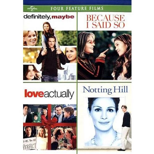 Definitely, Maybe / Because I Said So / Love Actually / Notting Hill (Anamorphic Widescreen)