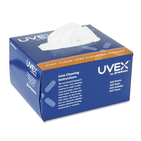 - Sperian Lens Cleaning Cloth, Pre-moistened towelettes with powerful Uvex Clear� Lens Cleaning Solution. By Uvex