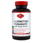 Olympian Labs L-Carnitine Fumarate 500 MG Capsules, 100 Ct