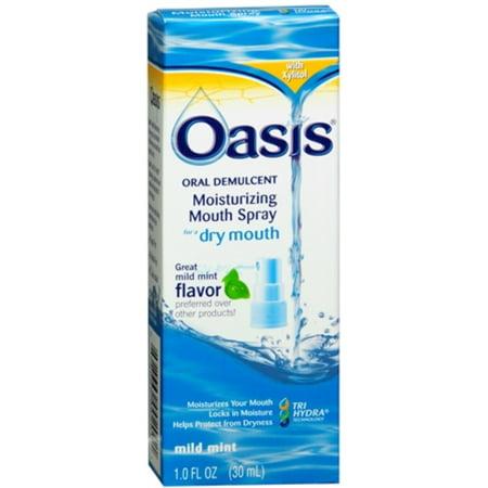 Oasis Moisturizing Mouth Spray Mild Mint 1 oz ()