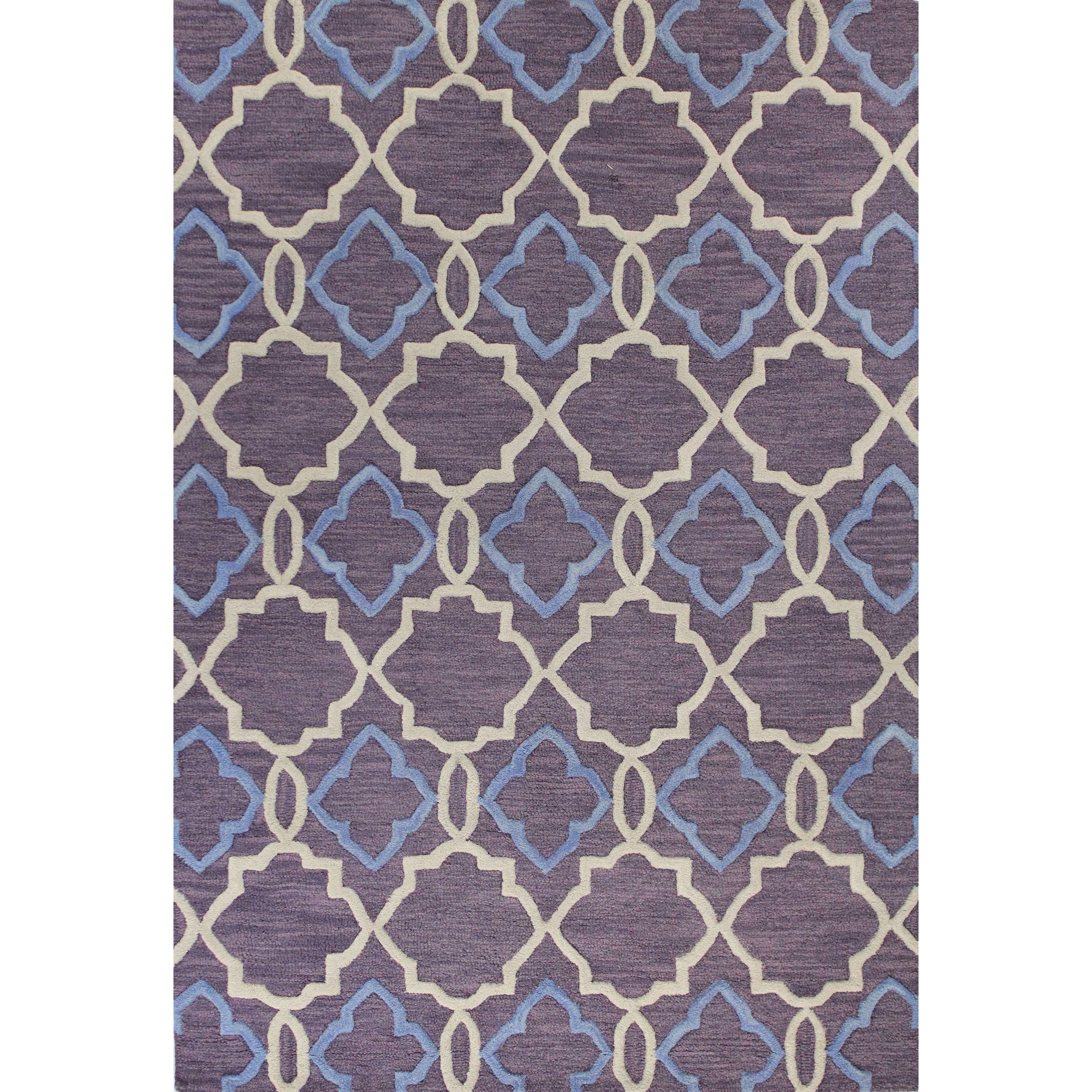 """Bashian Kathryn Multicolored Wool Tufted Area Rug (5' X 7'6) - 5' x 7'6"""""""