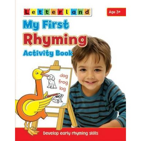 My First Rhyming Activity Book : Develop Early Rhyming Skills - Halloween Early Years Activities