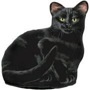 Fiddler's Elbow Ah Cat Fabric Weighted Floor Stop