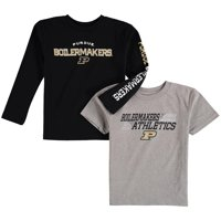Purdue Boilermakers Preschool United T-Shirt Combo Pack - Heathered Gray/Black