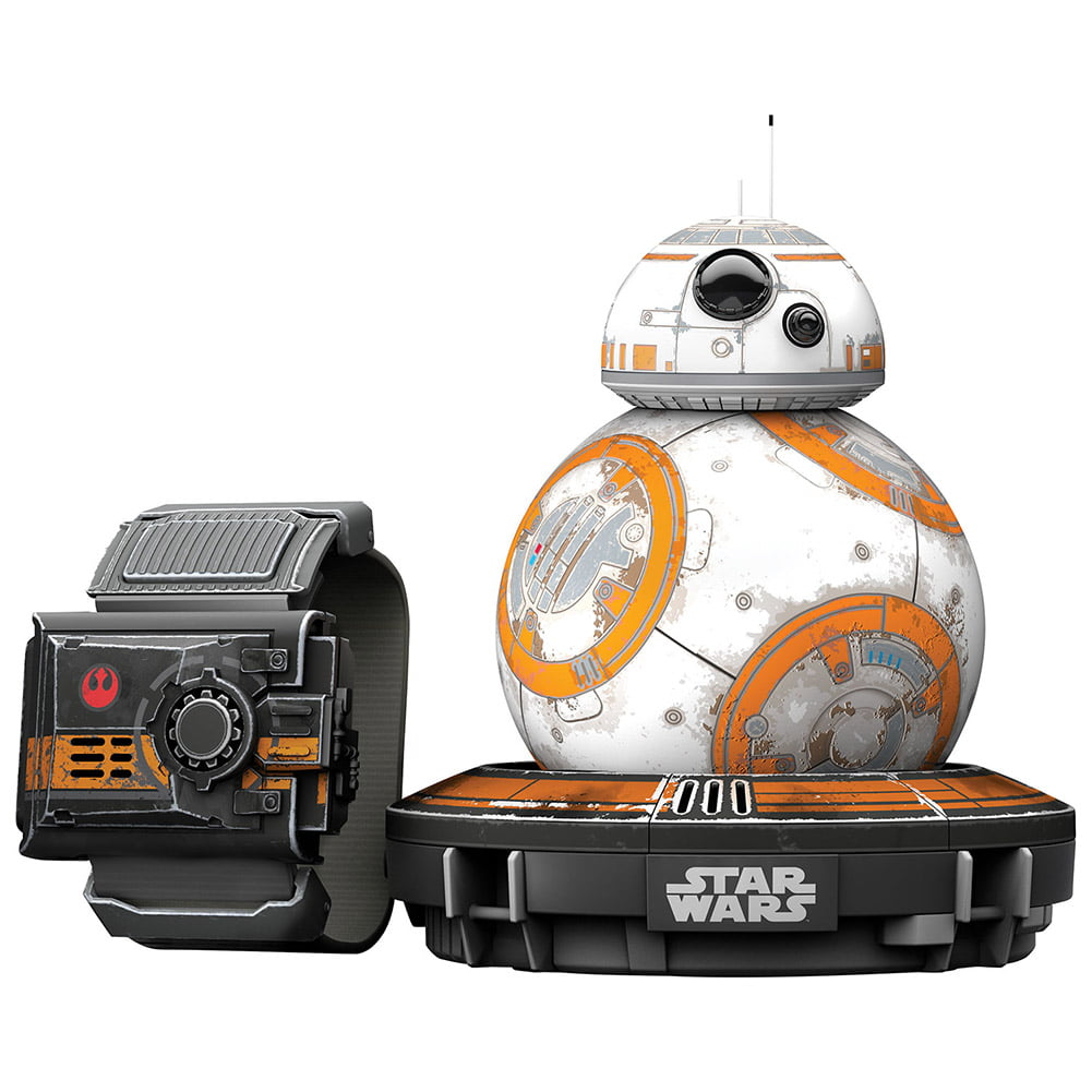 Sphero Star Wars BB-8 App Controlled Robot with Star Wars Force Band by ORBOTIX INC