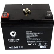 SPS Brand 12V 35Ah Replacement battery for Lawn Mower Honda Lawn and Garden HRC 7018