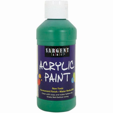 Acrylic Paint 8oz-Spectral Green](Glow In The Dark Paint Blue)