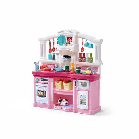 Step2 Fun with Friends Kitchen Pink With 24 Piece Accessory