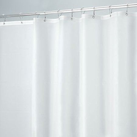 MDesign PEVA 10 Gauge Heavy Duty Shower Curtain Liner Mildew Free Stall 54 X 78 Frost