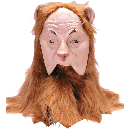 Cowardly Lion Adult Halloween Mask Accessory