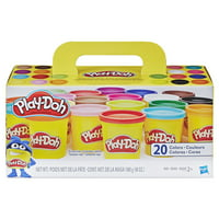 Play-Doh Super Color 20-Pack with 20 Colors, 60 Ounces