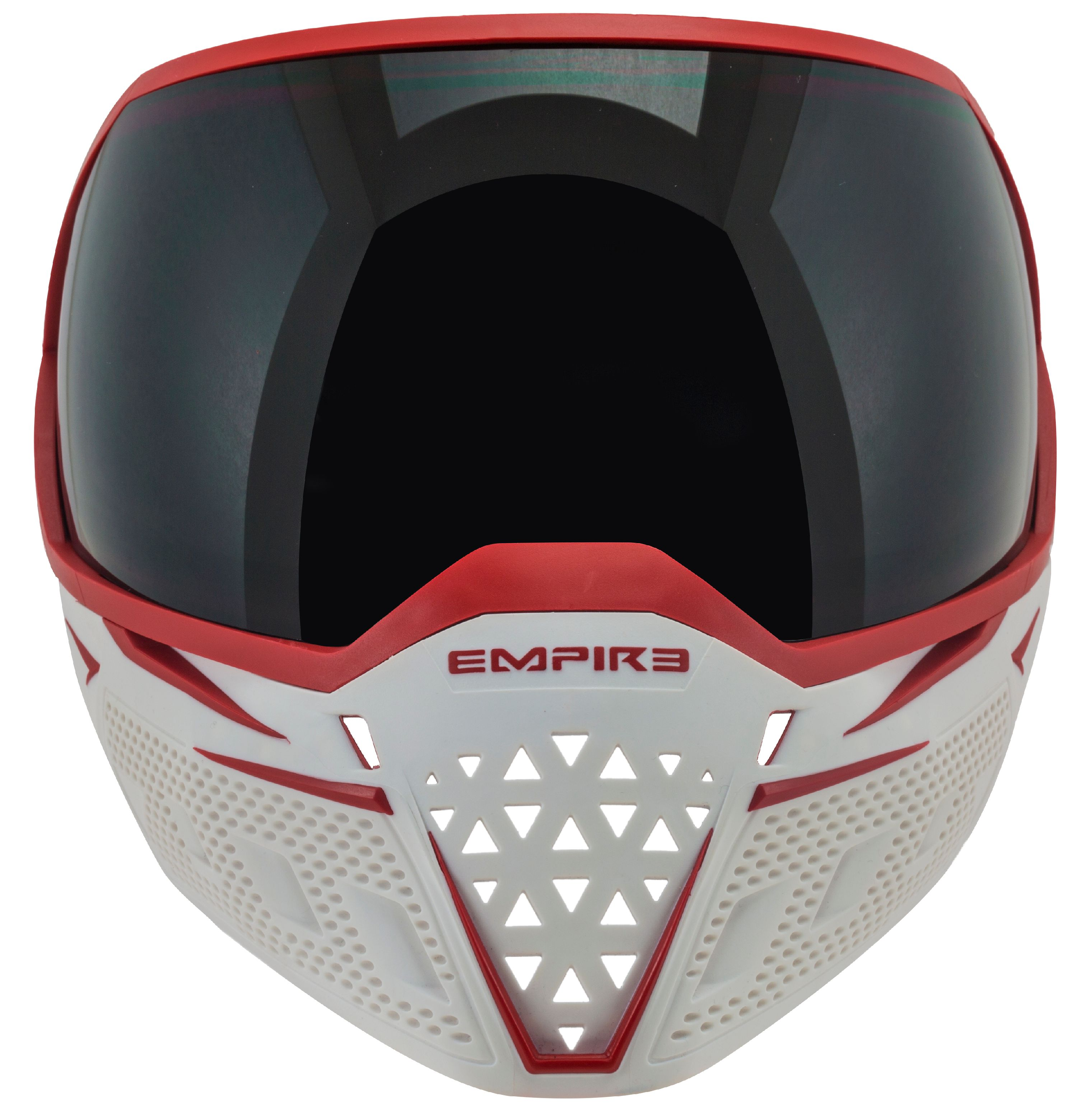 Empire EVS Thermal Paintball Goggles - White / Red
