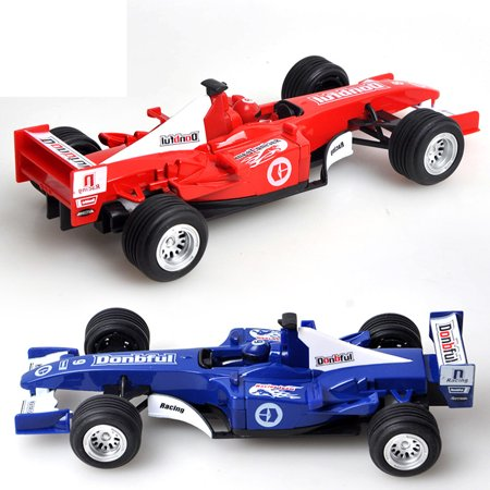 1pcs Alloy Formula Racing Model Car Wide Tires High Speed for Kid Boy Girl Playing Game Christmas Birthday (Car Games To Play Now For Boys)
