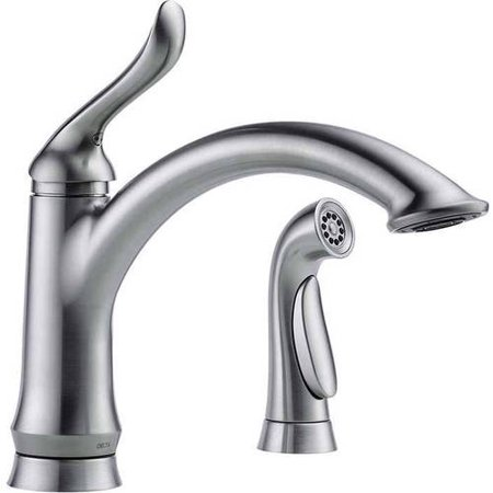 Delta Linden Kitchen Faucet with Side Spray, Available in Various Colors