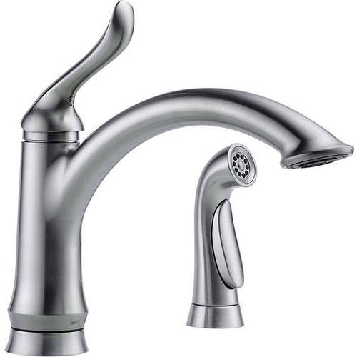 Ordinaire Delta Linden Kitchen Faucet With Side Spray, Available In Various Colors