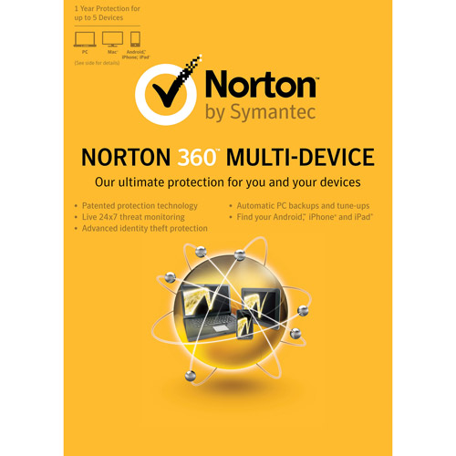 Norton 360 Multi-Device, 5 Devices