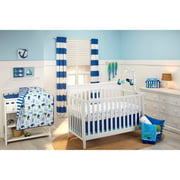 Little Bedding by NoJo Splish Splash 3-Piece Crib Bedding Set
