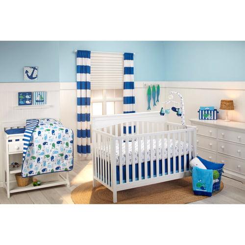 Little Bedding by NoJo Splish Splash 3-Piece Crib Bedding Set
