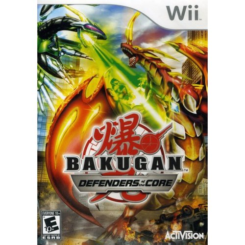 Bakugan Battle Brawlers: Defenders of the Core - Nintendo Wii