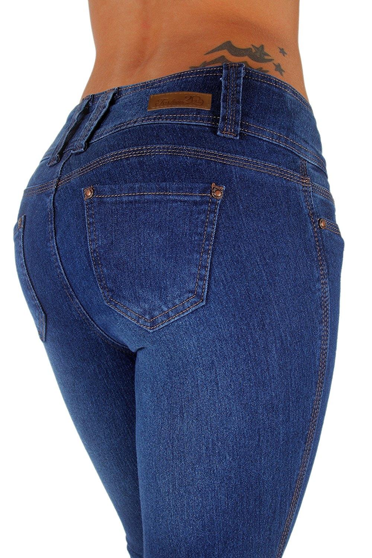 Style N231P - Plus Size, Mid Waist, Butt Lifting, Skinny Leg Jeans