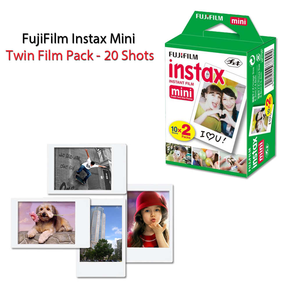 Buy FujiFilm Instax Mini 8 Camera BLUE + Accessories KIT for Fujifilm Instax Mini 8 Camera includes: 40... by HeroFiber