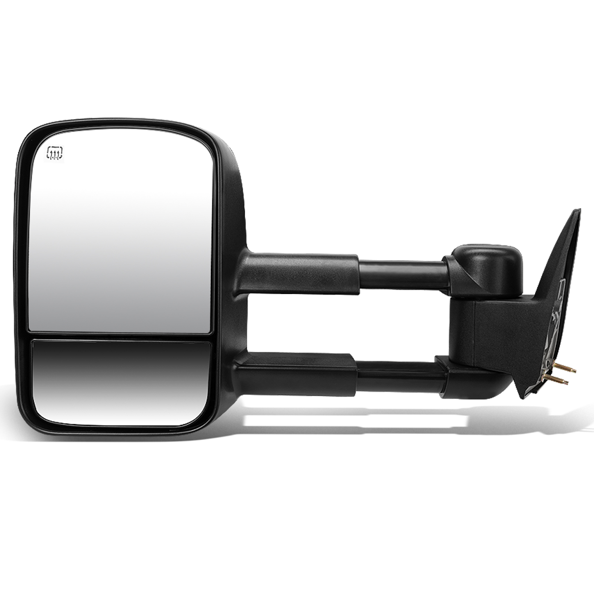 For 2003-2007 Chevy Silverado/GMC Sierra Powered Adjustment+Heated Tow Towing Mirror (Left/Driver)