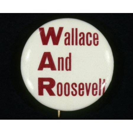 Presidential Campaign 1940 Nrepublican Button From The 1940 Presidential Campaign Warning Voters That The Democratic Ticket Of President Franklin Delano Roosevelt And Vice-Presidential Candidate Henry