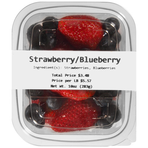 Strawberry/Blueberry Mixed Fruit, 10 oz