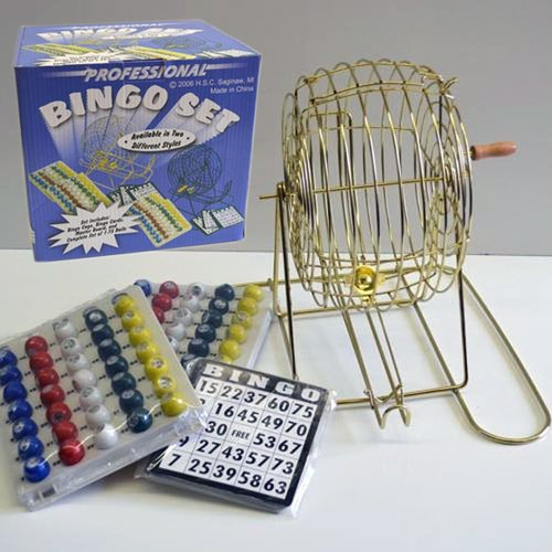 Penn Distributing Professional Bingo Game Set