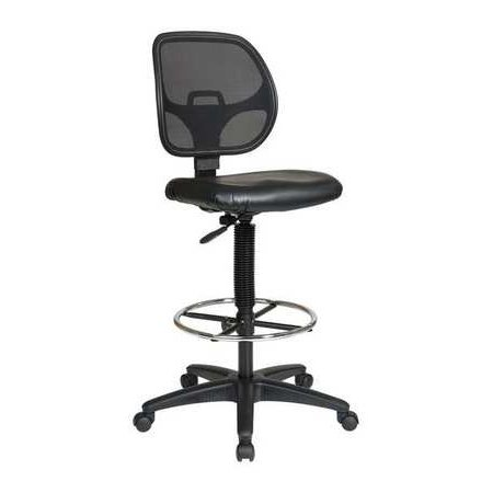OFFICE STAR DC2990V Chair, Drafting, Fabric/Metal, (75 Office Star)