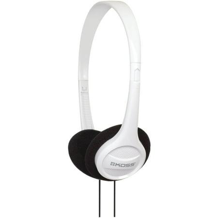 Koss KPH7w Portable On Ear Headphones