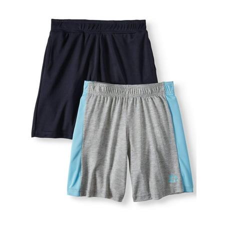 RBX Active Shorts Value, 2-Pack Set (Little Boys & Big Boys) (Boys Shorts Size 5)