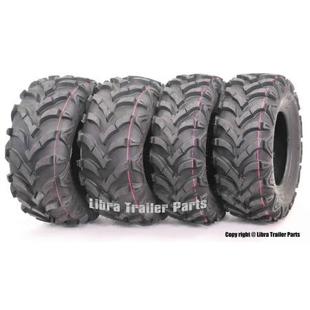Suzuki Ozark 250 Full Set ATV Tires 22x7-11 Front & 22x10-9 Rear /6PR P341