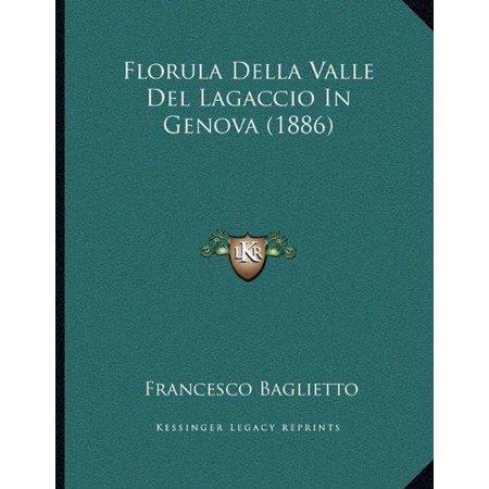 Florula Della Valle Del Lagaccio In Genova  1886