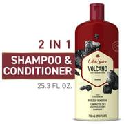 Old Spice Mens Shampoo, Charcoal Volcano, 25.3 fl oz